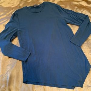 NWOT ASOS Asymmetrical Bottom Long Sleeve Tee